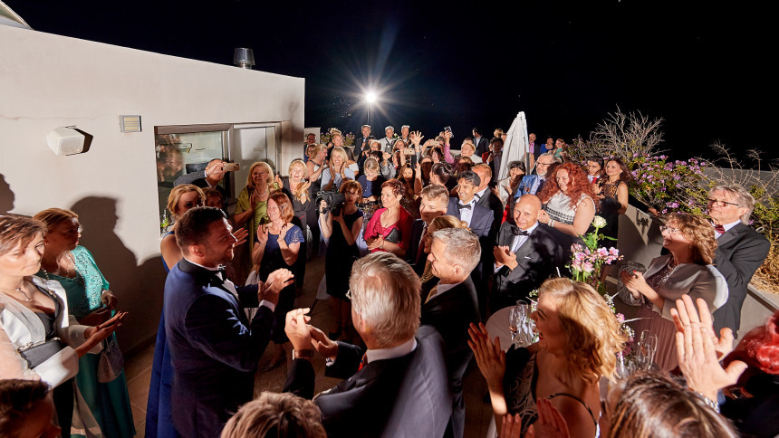 Photographs from a private party in Larnaca.  May 2019