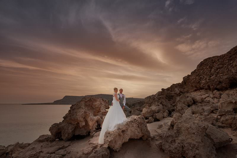 The wedding of Julie and Craig at the Grecian Parlk Hotel in Pro