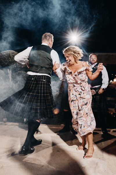 The Scottish wedding of Kirsten and Ryan, held in the Liopetro v