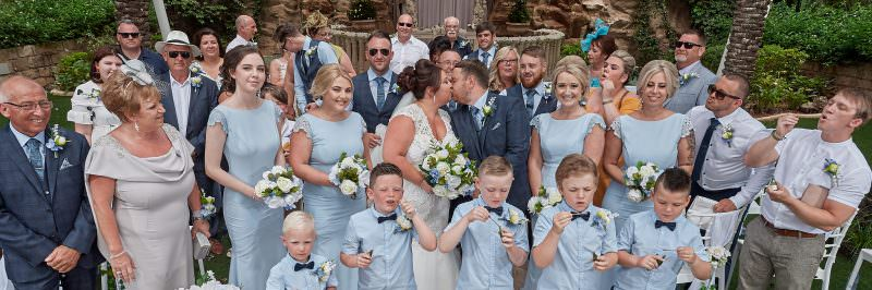 The wedding of Laura and Sean, who married in June 2019, at the